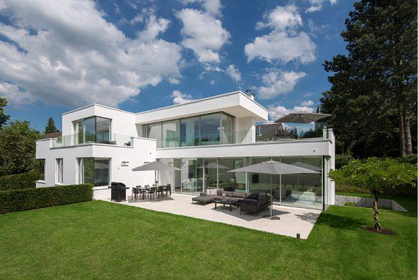 Villa am hang im essener s den holle architekten - Architekt holle essen ...